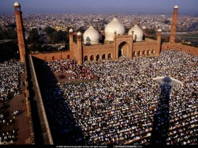 Lahore Badshahi Prayer
